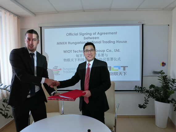 WIOT Signed Strategic Cooperation Agreement with Hungarian National Trading House