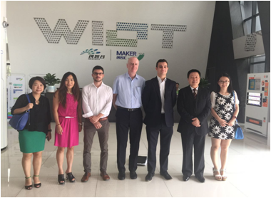 The Delegation of LCCP Visited WIOT