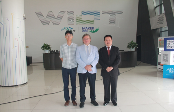 Commercial Consul of the Consulate General of Belgium in Guangzhou Visited WIOT